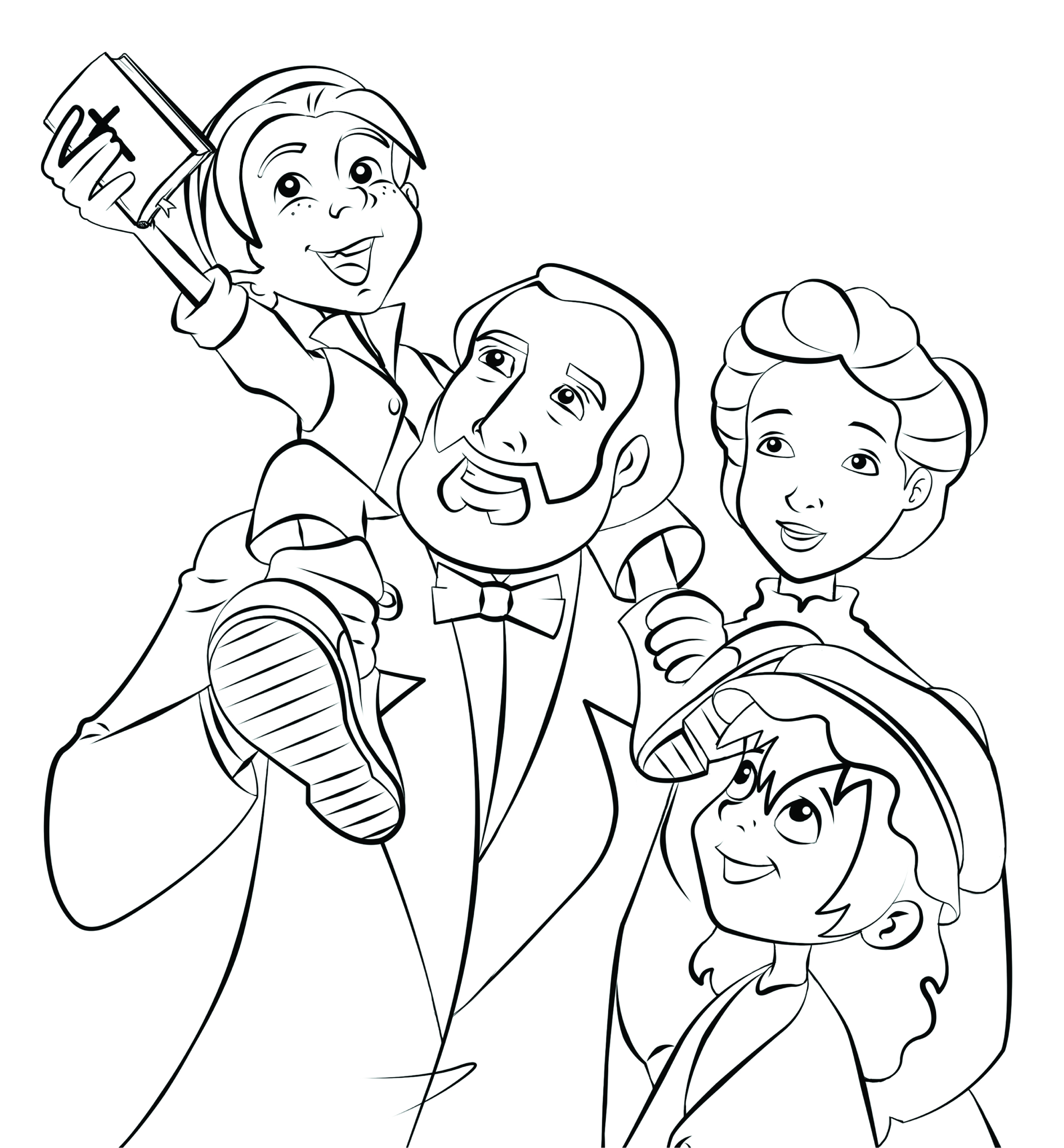 coloring pages gladys aylward - photo#18